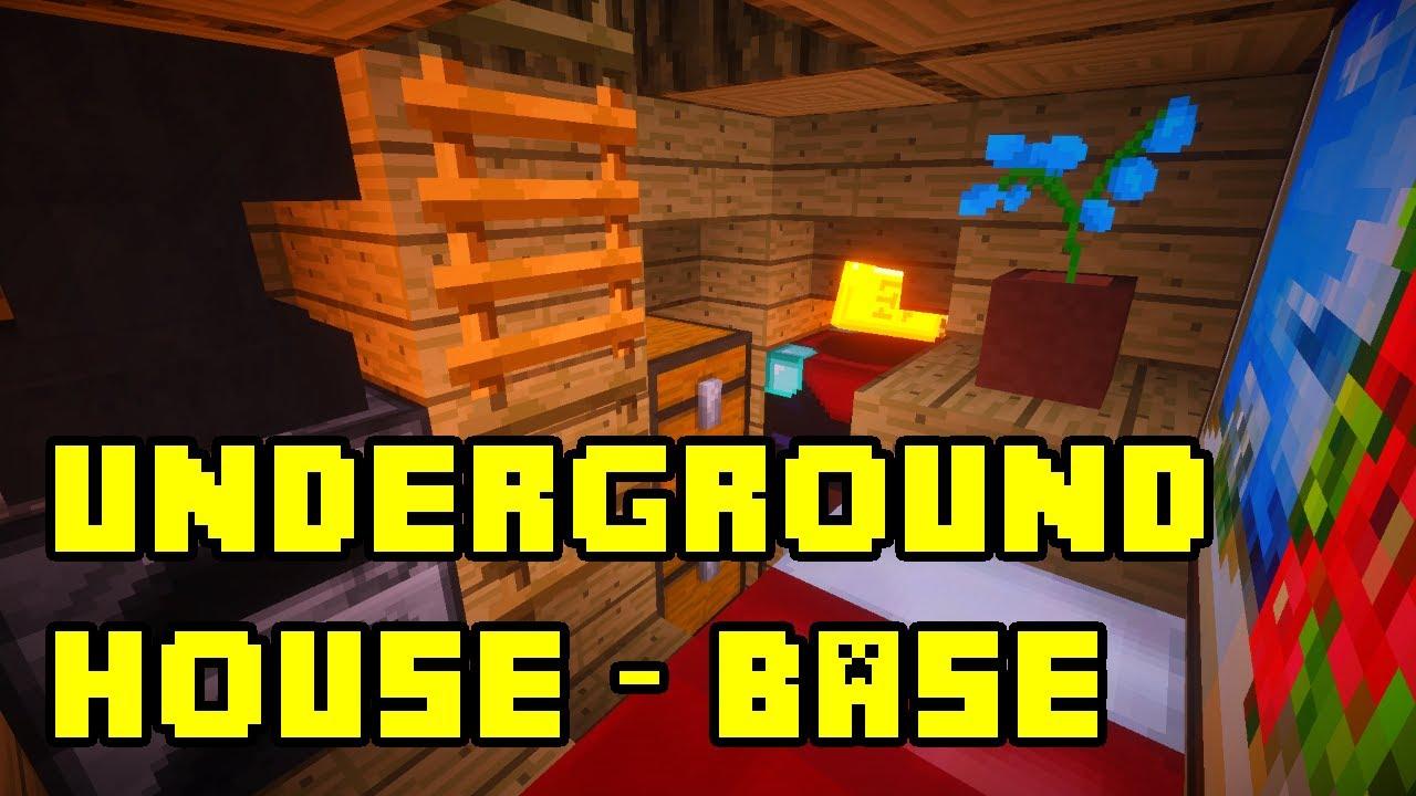 Minecraft How To Build A Secret Base