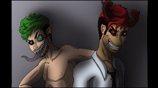 For the Crown | A Darkiplier & Antisepticeye Animation (part 1)