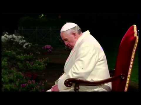 Raw: Pope Francis Leads Good Friday Procession