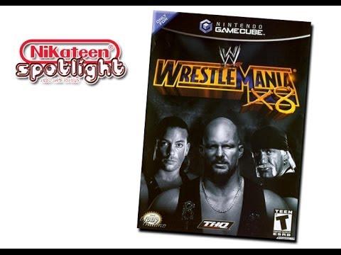 Spotlight Video Game Reviews - Wwf wwe Wrestlemania X8 (gamecube) video