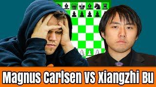Kekalahan Sang Juara Dunia Catur GrandMaster Magnus Carlsen di tangan GM Xiangzhi Bu di tahun 2017