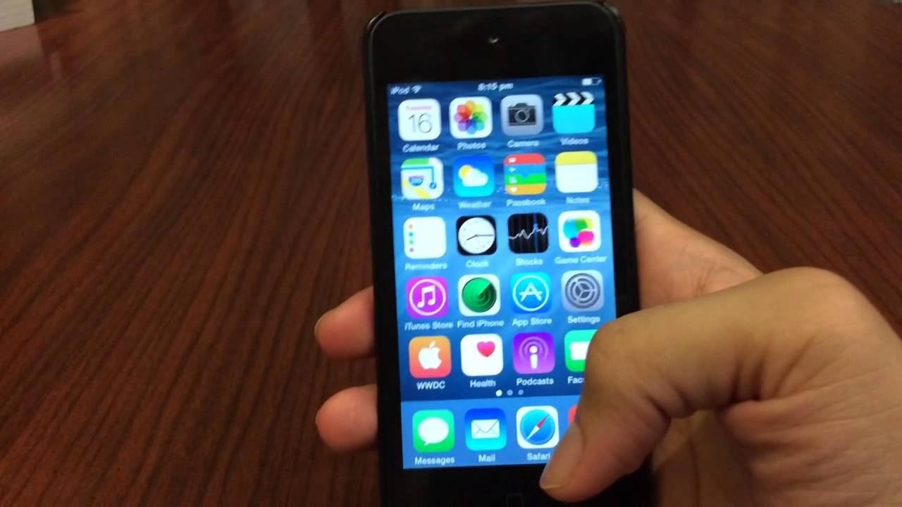 Ipod Ios 8 Ios 8 Review on Ipod Touch 5g