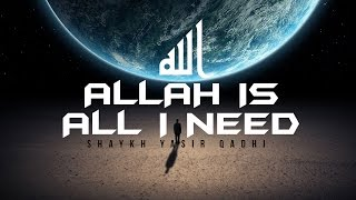 Video: Allah is all I need
