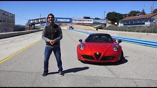 Alfa Romeo 4C Spider 2016 - Prueba A Bordo [Full]