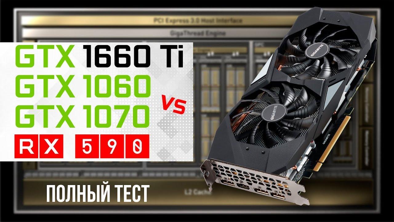 GeForce GTX 1660 Ti 6GB - полный тест vs RX 590, GTX 1060 и GTX 1070