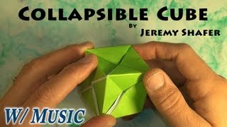 Collapsible Cube (with Music)
