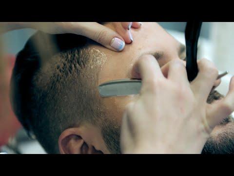 Мужская стрижка UnderCut. Оформление бороды