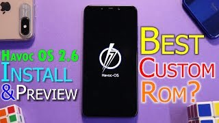 Pocophone F1 | Havoc OS 2.6 | Install & Preview | The Best Rom For Poco F1 ? Smartphone2torials
