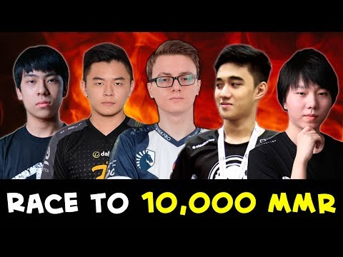 10k RACE — TOP players close to highest MMR
