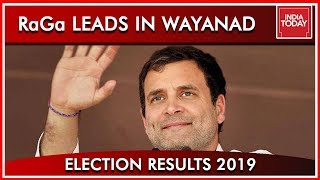 Rahul Gandhi's Lead In Wayanad Crosses 10,000 | Results 2019