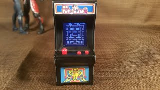 TMan Plays World's Smallest Ms. Pac-Man Arcade