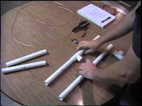 2 Meter Quad PVC Pipe Antenna (Part 2/6)