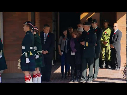 Raw: Canada Gives Slain Soldier Hero's Send-off