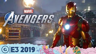 Creating A New Story For Marvel's Avengers | E3 2019
