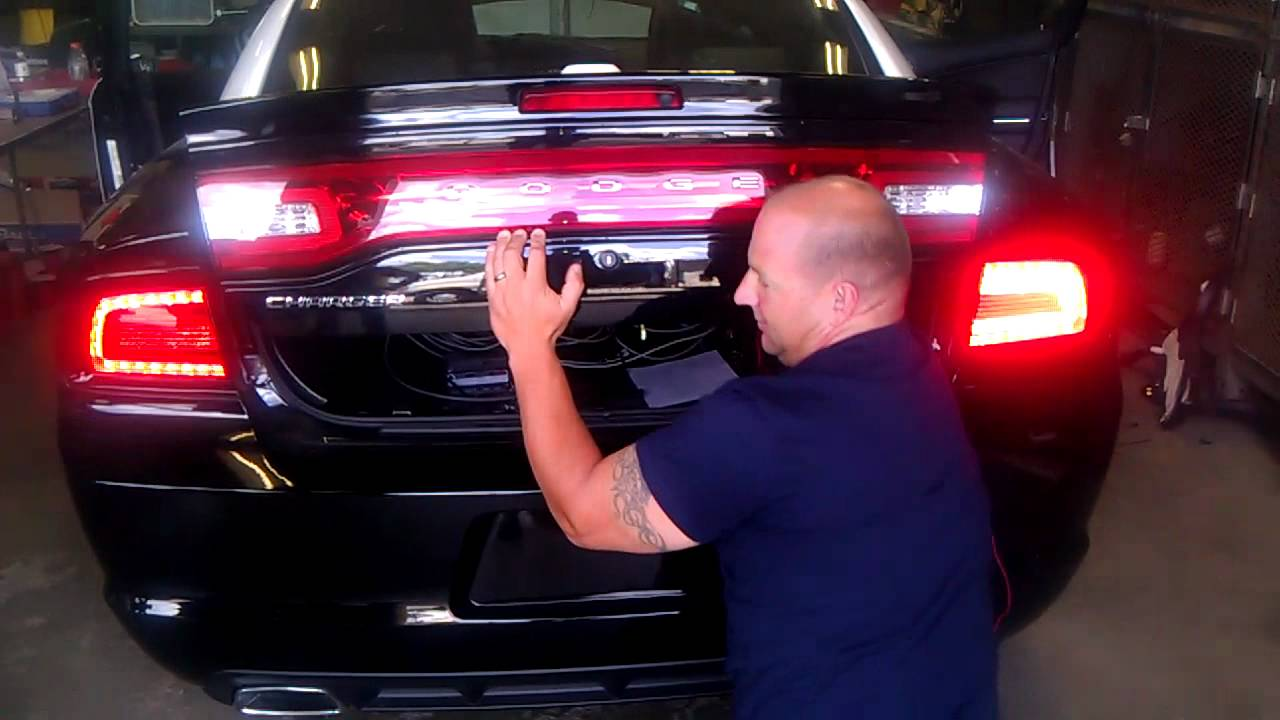 2012 Dodge Charger Rear Lights Youtube