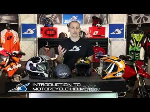 Basic Introduction to Motorcycle Helmets at Motorcycle-Superstore.com