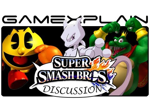 Possible Smash Bros Newcomers Discussion: Pac-Man, Palutena, Mewtwo & More! (Wii U & 3DS)