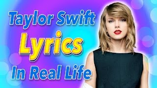TAYLOR SWIFT LYRICS! Taylor