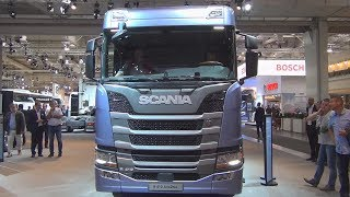 Scania R 410 A4x2NA Tractor Truck (2017) Exterior and Interior