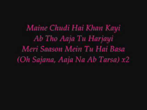 Maine Payal Hai Chankai - With Lyrics video
