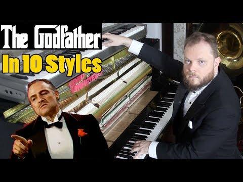 The Godfather in 10 Styles Vídeos de zueiras e brincadeiras: zuera, video clips, brincadeiras, pegadinhas, lançamentos, vídeos, sustos