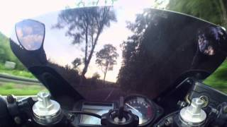 Acceleration Honda CBR 600 F onboard 48 PS HD