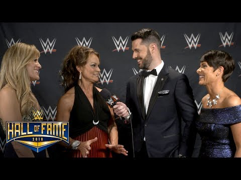 Ivory, Molly Holly & Lilian Garcia have a backstage reunion: Exclusive, April 6, 2018