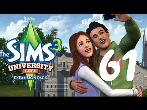 Let's Play  The Sims 3 University Life Part 61) The Witch!