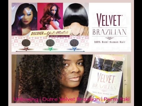Velvet Brazilian Remy Velvet Brazilian Perm Yaki