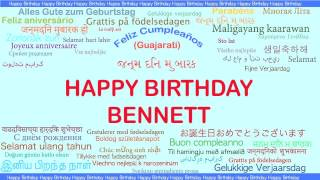 Bennett   Languages Idiomas - Happy Birthday