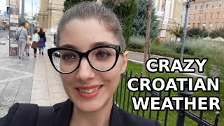 Crazy CROATIAN Weather  & Walking Around RIJEKA