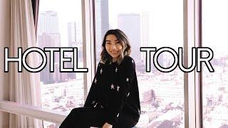 Top Floor Japan Hotel Room Tour! Hundred Stay Hotel Tokyo! Japan Trip 2018