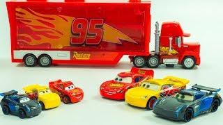 MINI RACERS STOPMOTION Lightning McQueen, Jackson Storm & Cruz Ramirez Disney Cars Toys Race
