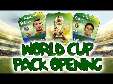 FIFA 14 - World Cup Ultimate Team - PACK OPENING!!!