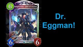Dr. Eggman's Wrath! Belphomet/Artifact Deck Spotlight (Shadowverse Steel Rebellion)