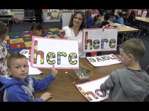 Sight Word Blocks Alphabet Blocks Sight Word