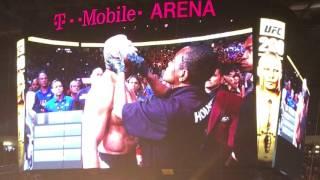 BROCK LESNAR ENTRANCE AND INTRODUCTION UFC 200 LAS VEGAS
