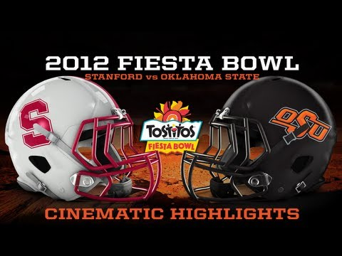 #3 Oklahoma State vs. #4 Stanford - Fiesta Bowl Cinematic Highlights