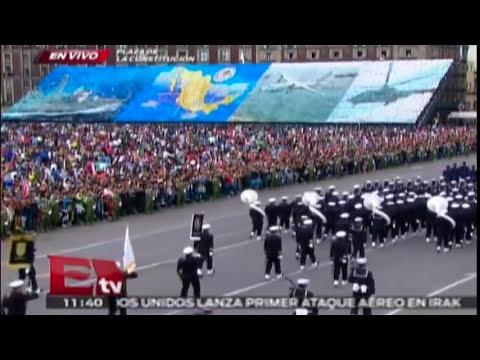 Desfile Militar del 16 de Septiembre Parte 3