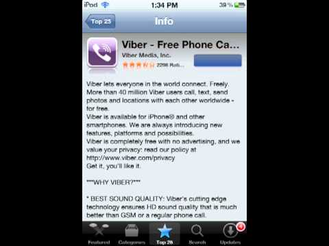 Voxer walkie-talkie app review ipod touch/iphone/ ipad