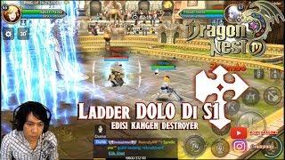 Ladder Dolo di S1 !!! Dragon Nest M - Lv 65 Destroyer Ladder