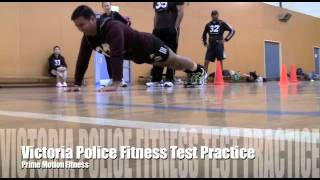 Victoria Police Fitness Test | July 2012 | Prime Motion Training