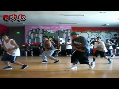 Michael Franklin  teaching @ Stylz Dance Studio (Barkada Modern Workshop) Music Videos