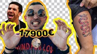 QUANTO COSTA IL TUO OUTFIT: 17900€ E TATUAGGIO GUCCI!!