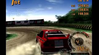 Gran Turismo 3 Arcade Mode Area D Tahiti Maze