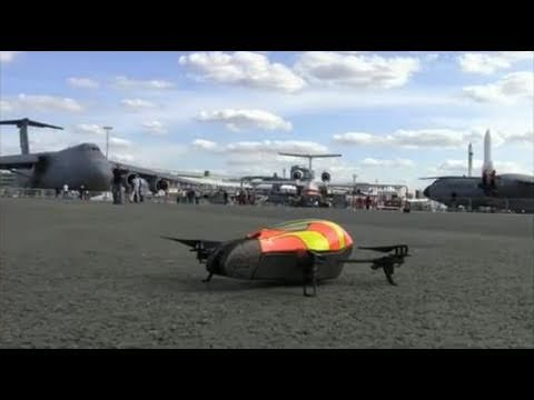 AR.Drone automatic dance - Paris Air Show 2011