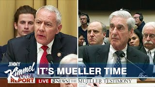 Jimmy Kimmel on Mueller Testimony