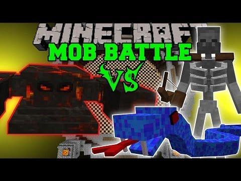 EVIL SUN BOSS VS SEA VIPER, MUTANT, & ORC SHAMAN - Minecraft Mob Battles - Mods