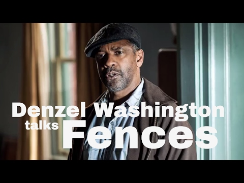 Denzel Washington interviewed by Simon Mayo
