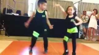 Salsa Shakes! Amazing dancing kids!